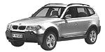 Запчасти для BMW (БМВ) X3 E83