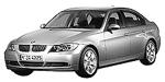 Запчасти для BMW (БМВ) 3' E90