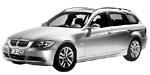 Запчасти для BMW (БМВ) 3' E91