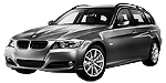 Запчасти для BMW (БМВ) 3' E91 Рестайлинг