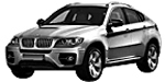 Запчасти для BMW (БМВ) X6 E72 Гибрид
