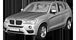 Запчасти для BMW (БМВ) X3 F25