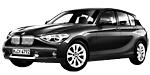 Запчасти для BMW (БМВ) 1' F20