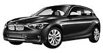 Запчасти для BMW (БМВ) 1' F21