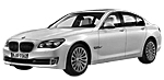 Запчасти для BMW (БМВ) 7' F01 Рестайлинг