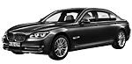 Запчасти для BMW (БМВ) 7' F02 Рестайлинг