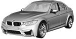 Запчасти для BMW (БМВ) 3' F80 M3 Рестайлинг