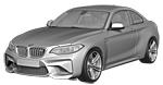 Запчасти для BMW (БМВ) 2' F87 M2