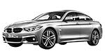 Запчасти для BMW (БМВ) 4' F36 Gran Coupé Рестайлинг