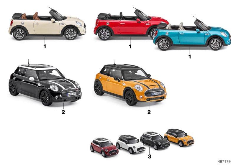 Mini миниатюрные модели 2016 миниатюрные модели аксессуары