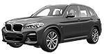 Запчасти для BMW (БМВ) X3 G08